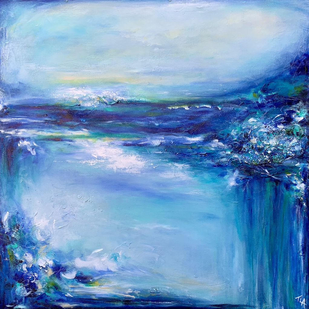 Pic 5_Tracy Armstrong_Even the River and the Sea Are One_30x30_Mixed Media and Acrylic_$600